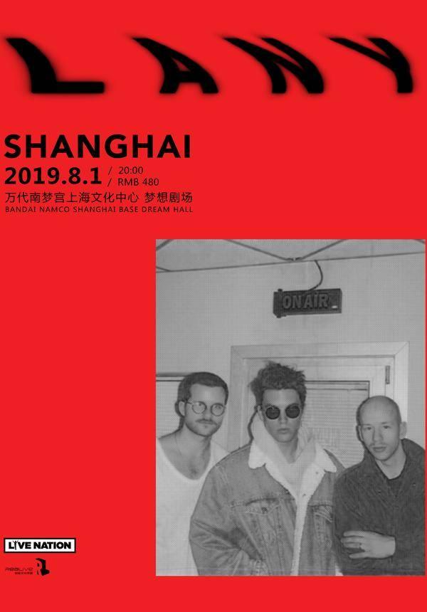 "LANY ""Malibu Nights Tour"" in Shanghai"
