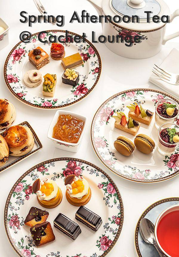 Spring Afternoon Tea @ Cachet Lounge