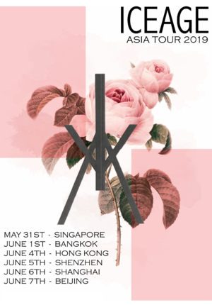 Iceage China Tour 2019 - Shanghai