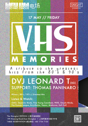 VHS Memories - A Tribute to the Greatest Hits from the 80's & 90's