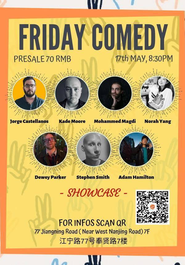 Un Caffe Friday Comedy Showcase