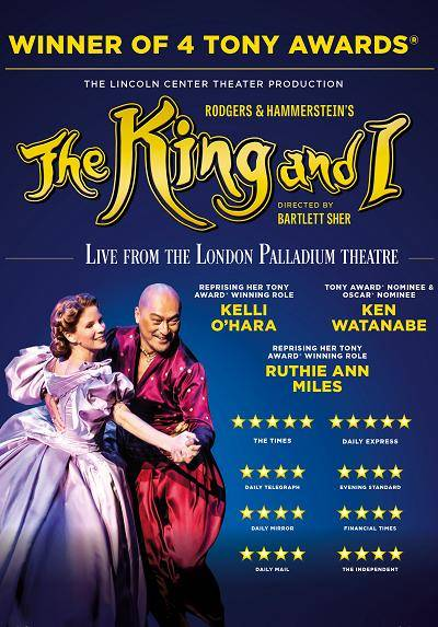 The Lincoln Center Theatre Production: The King and I (Screening)