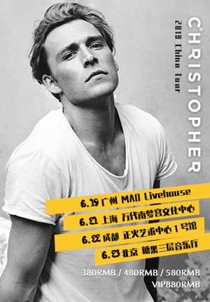 Christopher Nissen China Tour 2019 - Beijing
