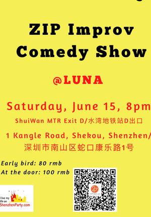 ZIP Improv Comedy Show @ Luna
