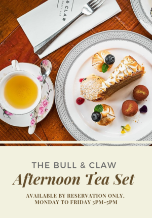 Afternoon Tea @ The Bull & Claw