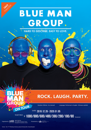 Blue Man Group Second Round Opening - Shanghai