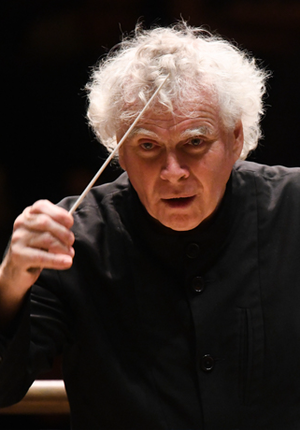 Sir Simon Rattle and London Symphony Orchestra