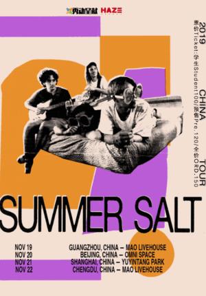 Summer Salt China Tour 2019 - Beijing