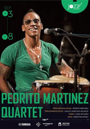 Special Offer: Pedrito Martinez Quartet