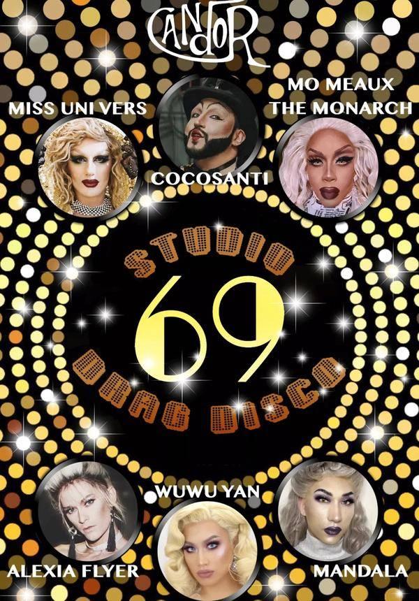 The Drag Extravaganza: Studio 69 - Drag Disco @ Candor