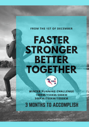 Winter Running Challenge, Stay Motivated