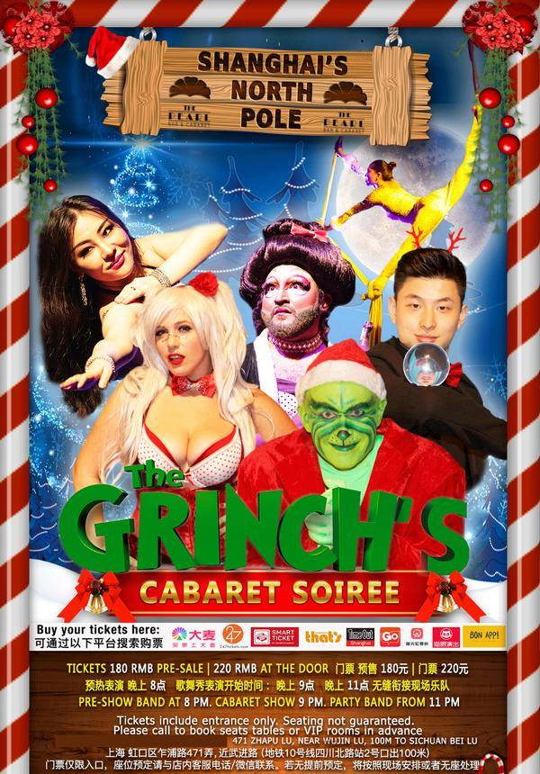 The Grinch's Cabaret Soiree  @ The Pearl