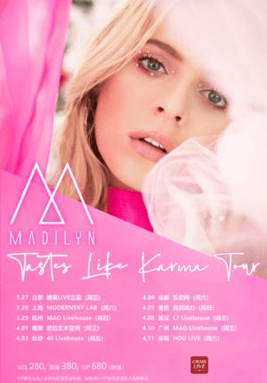 Madilyn Bailey Tastes Like Karma Tour 2020 - Shanghai (POSTPONED)