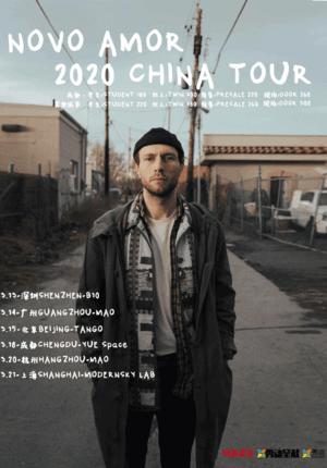 Novo Amor China Tour 2020 - Hangzhou