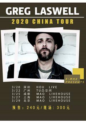 Greg Laswell 2020 China Tour - Shanghai (Greg Laswell)