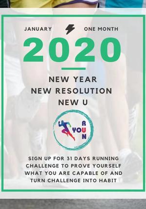One Month 100 KM Running Challenge
