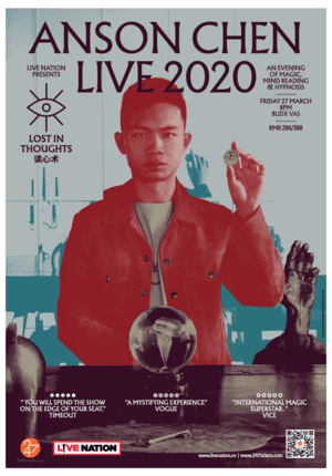 Anson Chen LIVE 2020: Lost In Thoughts (CANCELLED)