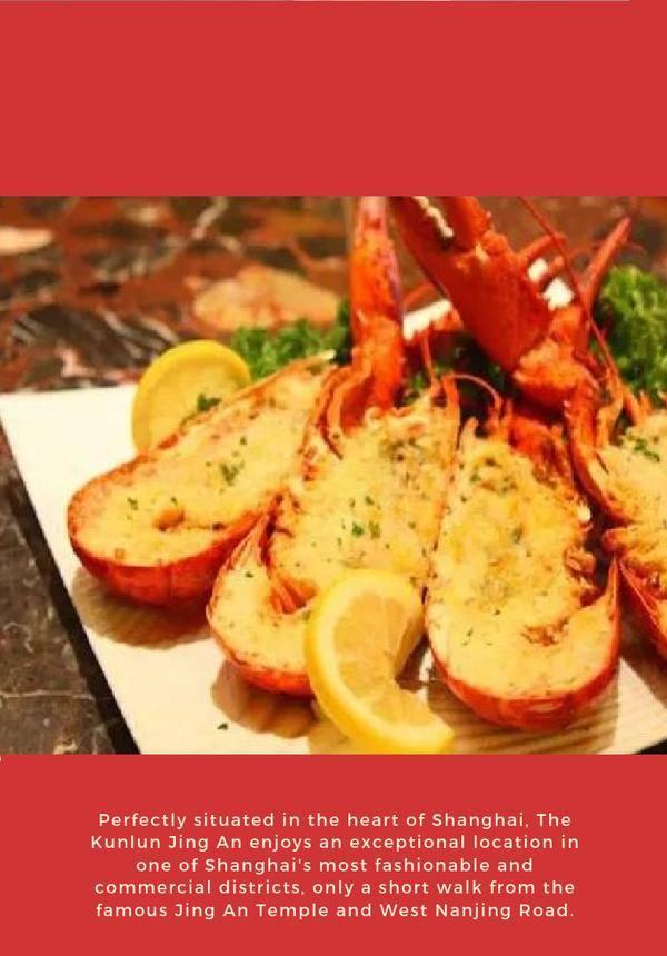 Live Boston Lobster Seafood Buffet @ Atrium Café   The Kunlun Jing An