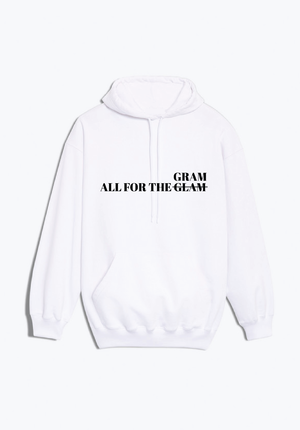 All For The Gram Hoodie (White)