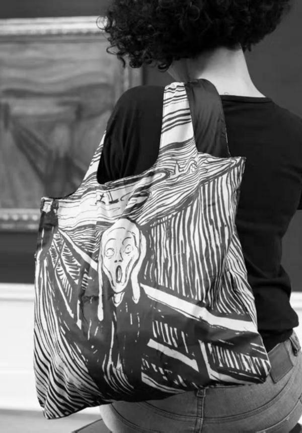 LOQI x Edvard Munch Tote Bags