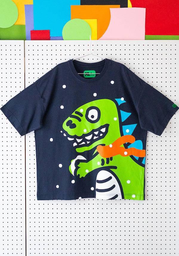 Corade Sorsor Dinosaur Snowball T-shirt