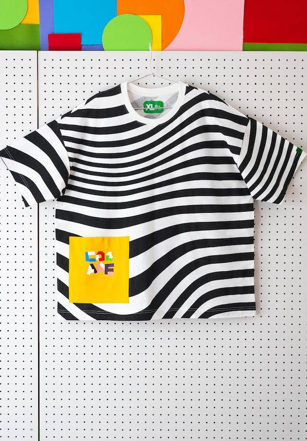 Corade Zebra Stripes T-shirt