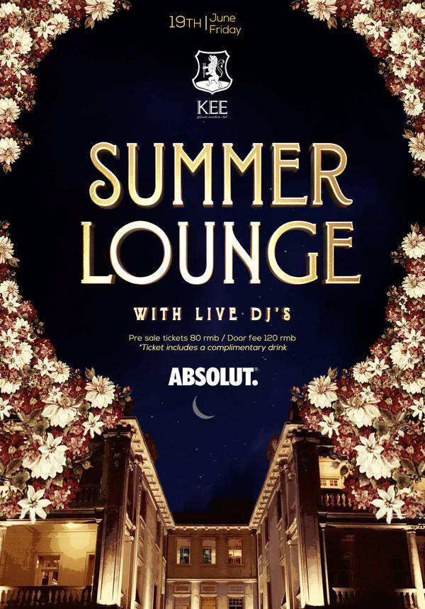 Summer Lounge @ KEE Club
