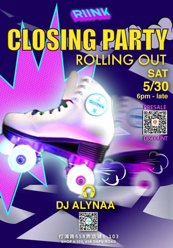 RIINK 1.0 Closing Party - Rolling Out
