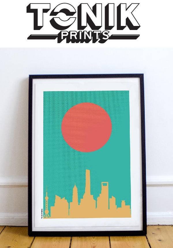 Tonik Prints: Shanghai Rising