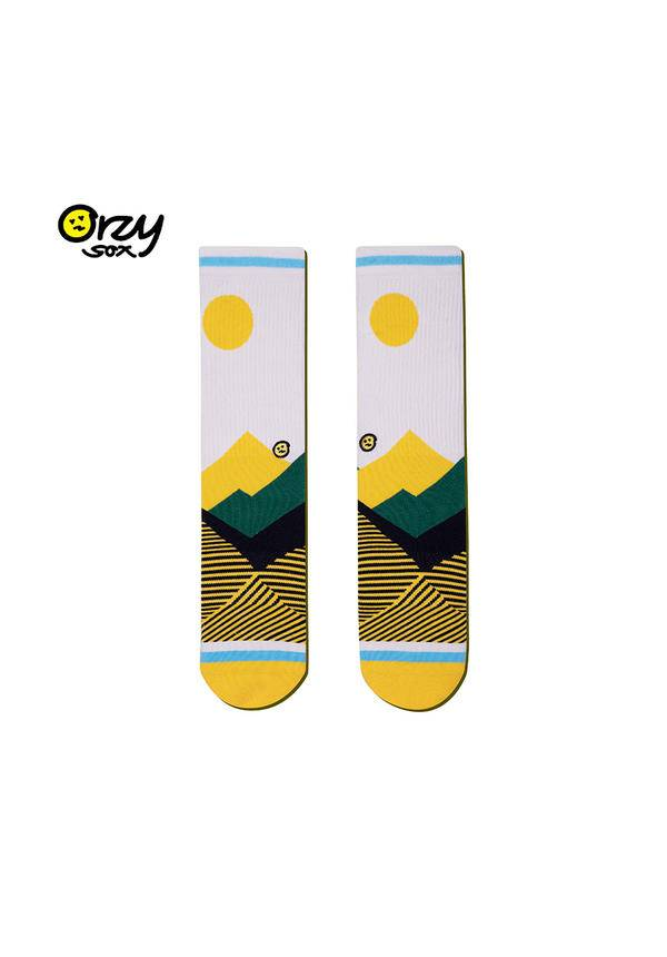 Orzy Sox Socks: Oasis