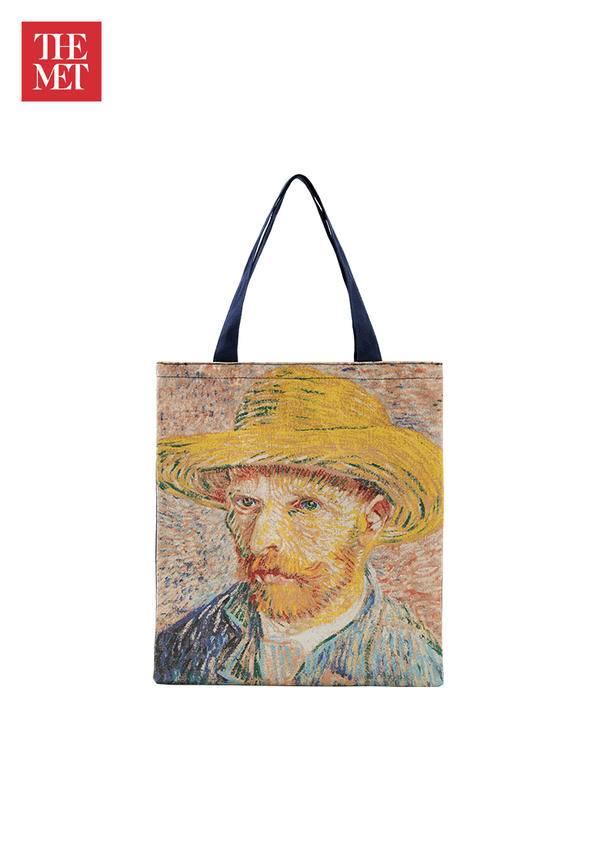 The Met: Van Gogh Self-Portrait Tote Bags