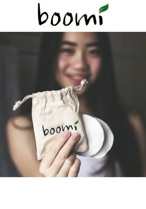 Boomi: Reusable Face Wipes (7pcs)