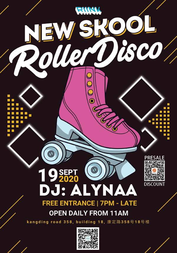 New Skool Roller Disco @ RIINK