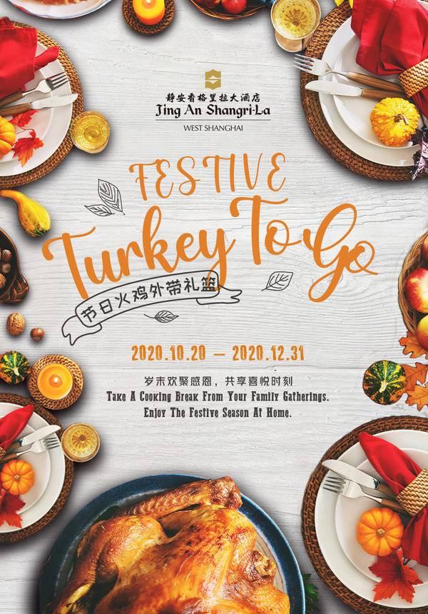 Festive Roast Turkey with Take-away Hampers