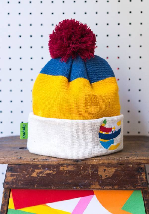 Corade: Knitted Bobble Hat