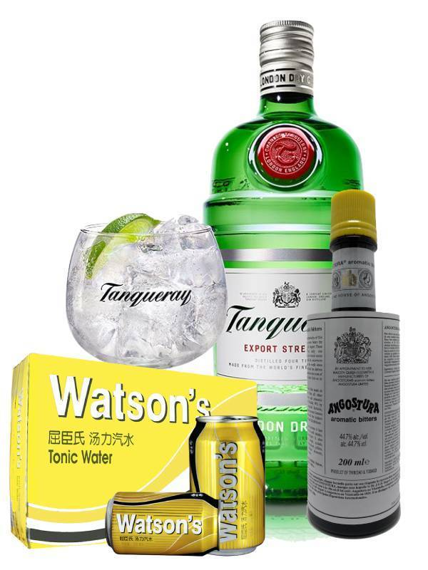 Gin & Tonic with Bitters