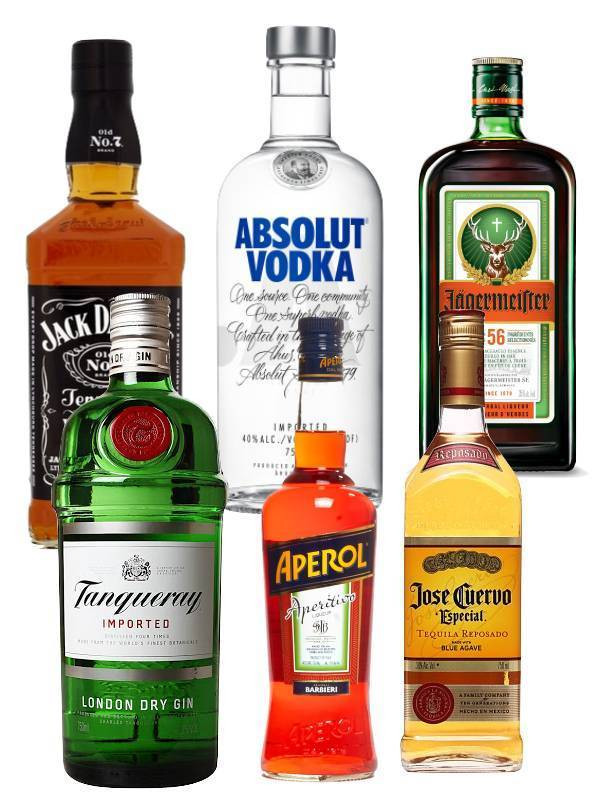 Essential Party Pack (Spirits)
