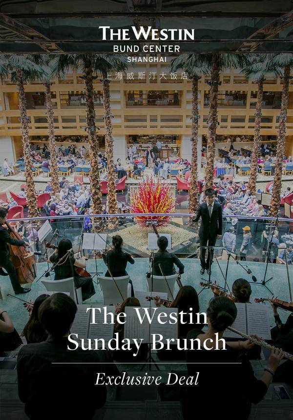 [25% OFF] The Westin Sunday Brunch Exclusive Deal (April Only)