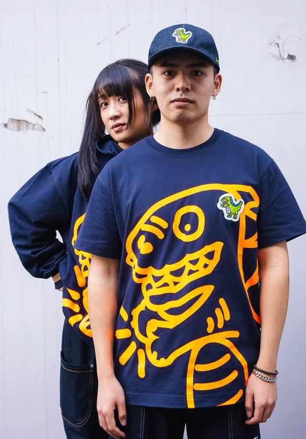 Corade Fluorescent Dinosaur T-shirt