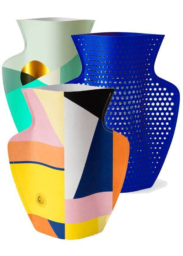 Octaevo: Paper Vases
