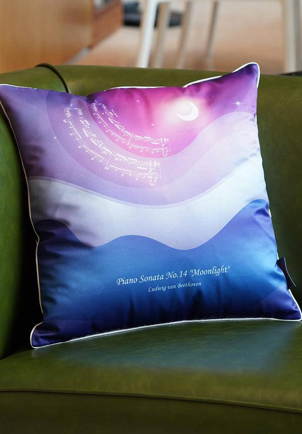 SSO: Beethoven Moonlight Throw Pillow
