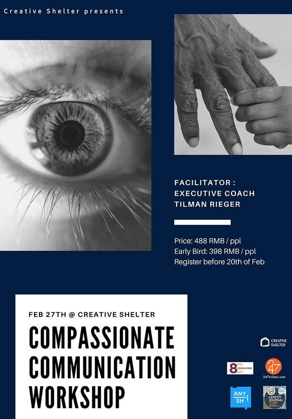 Creative Shelter Presents Introduction to Compassionate Communication