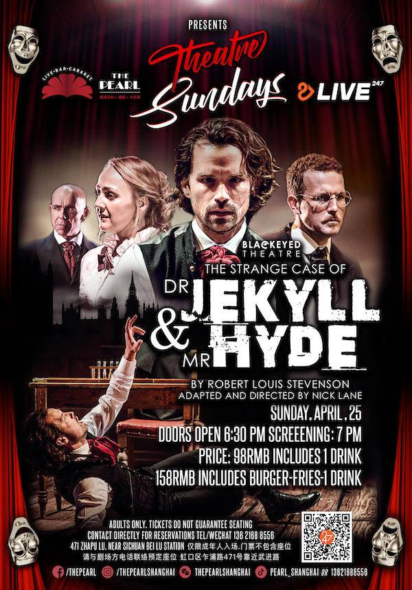 Blackeyed Theatre Screening: The Strange Case of Dr Jekyll and Mr Hyde
