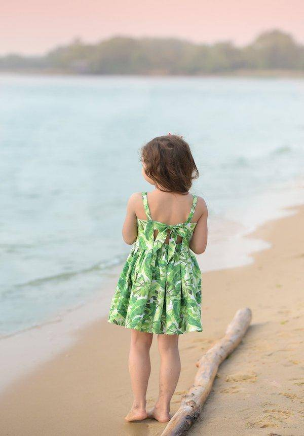 Sewing for kids (adult class) : Bow Back Dress