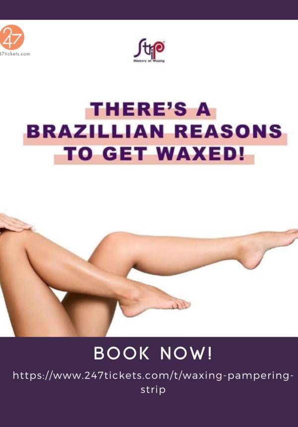 Waxing Pampering by The Strip, Ministry of Waxing