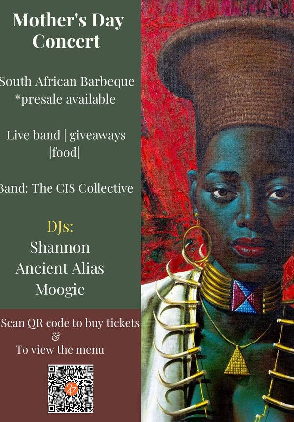 Ndawo Afrika 1 Year Anniversary and Mother's Day Concert