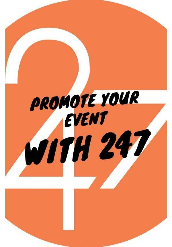 Promote Your Community Event With 247!