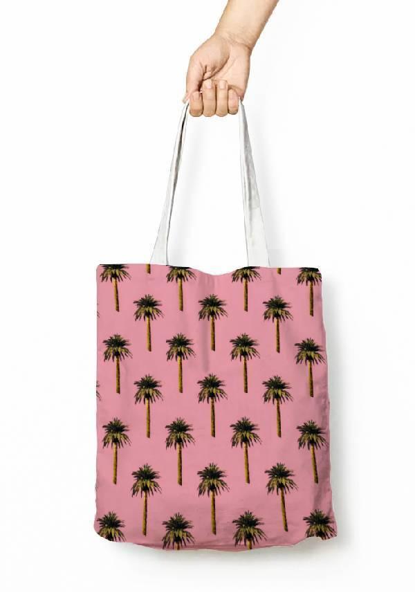 Tote Bag: Palm Trees