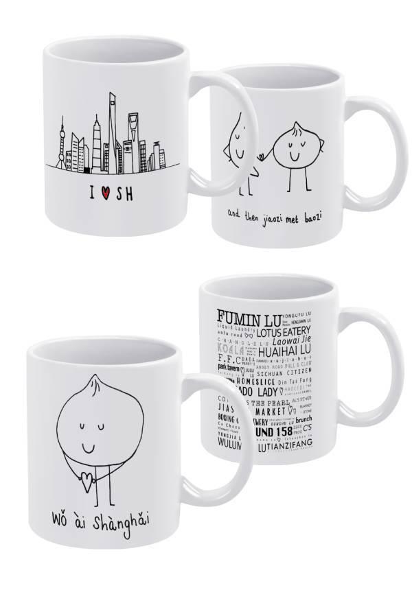 Shanghai Inspired: Mugs
