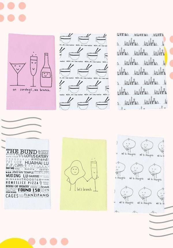 Shanghai Inspired: Tea Towels
